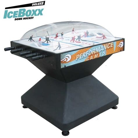 iceboxx dome hockey deluxe dome hockey tables