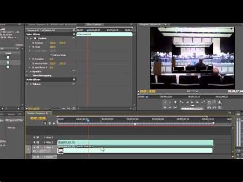 adobe premiere pro resize image how to resize a video in adobe premiere pro doovi