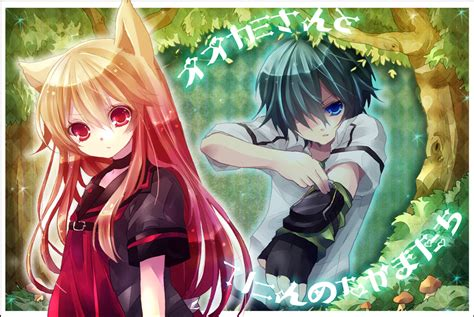 okamisan and seven companions okami san and seven companions anime and