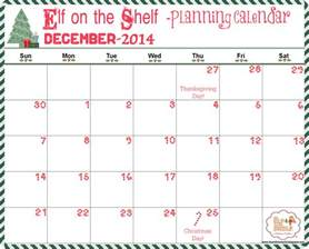 Shelf Planner It S A Mom S World Elf On The Shelf Planning Guide 6