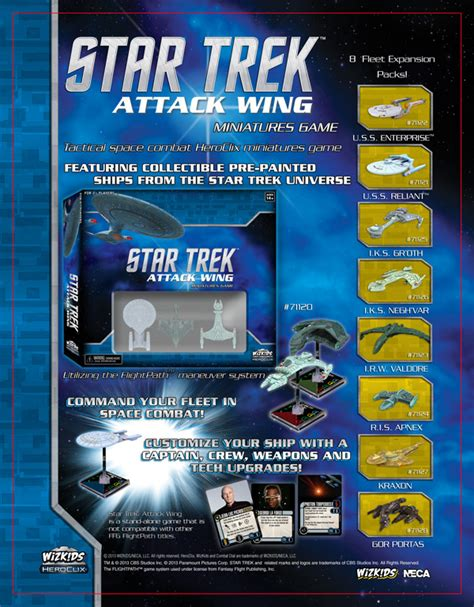 trek attack wing card template trek attack wing memory alpha fandom powered by