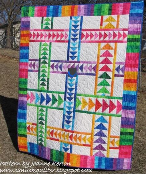 Flying Goose Quilt by 8 Stunning Flying Geese Quilt Patterns Join The Flock