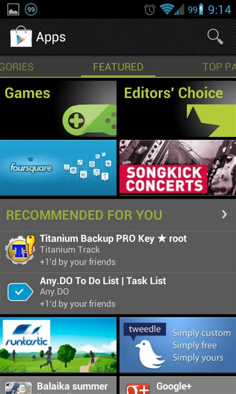 Play Store Can T Find App Personalized App Recommendations Come To The Play Store