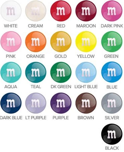 m&ms individual colors 5lb