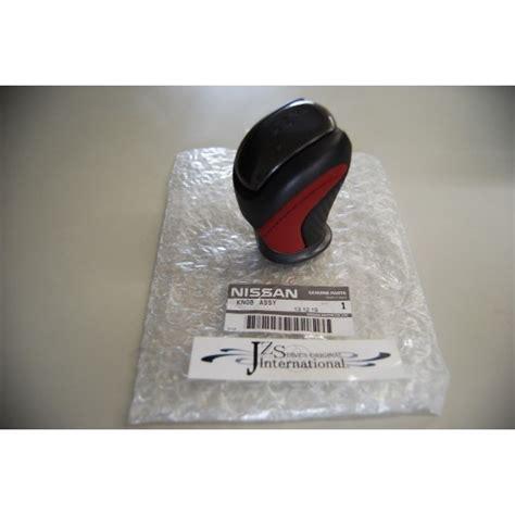 Nissan Gtr Shift Knob by 2007 2012 2013 Nissan Gt R R35 Genuine Shift Knob Black