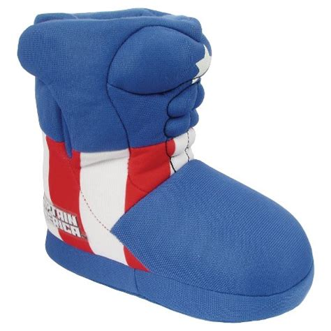 boys slippers target captain america toddler boys bootie slippers