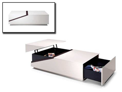 Contemporary Coffee Tables With Storage Contemporary Coffee Table With Storage Vg52 Contemporary