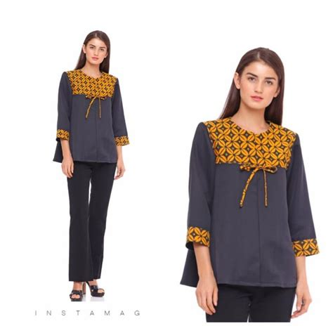 Blouse Santai Bahan Jumputan 3059 best batik images on