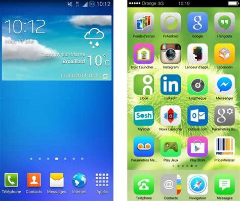 espier launcher themes mobile9 le top 8 des launchers android pour personnaliser son