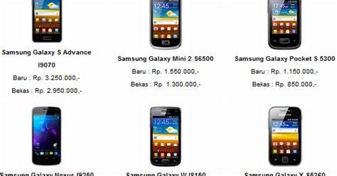Merk Hp Samsung Dan Gambar gambar hp samsung dan harga terbaru