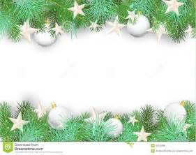 Christmas Tree Without Ornaments christmas background with white ornaments and branches