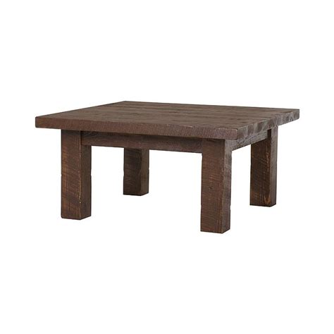 Barnwood Coffee Table Tables And Seating Barnwood Square Coffee Table Bw38