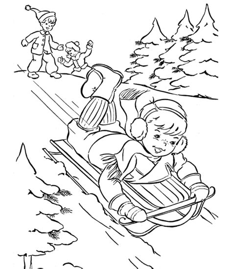 winter fun coloring pages az coloring pages