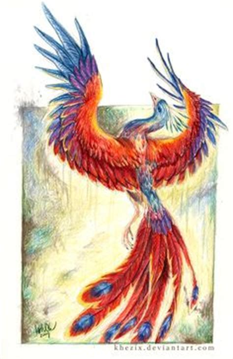 Phoenix Bird Art Ashes By Teri Rosario Buy Prismatic Watercolor Tattoos