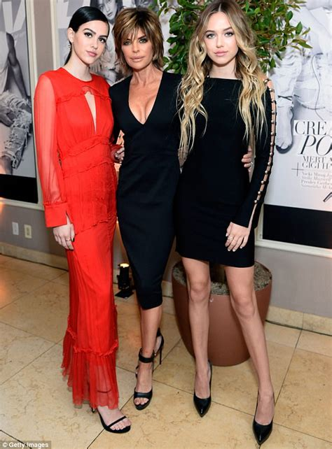 does lisa rinna havd kids lisa rinna s daughters look like hadid girls at la awards