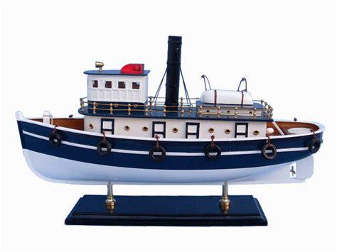 brooklyn fishing boat for sale buy wooden brooklyn harbor tug model boat 19 inch boat