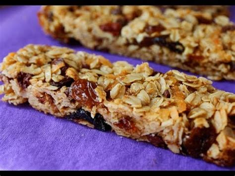 granola bar bowl