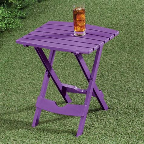 Folding Outdoor Side Table Bright Outdoor Folding Side Table Side Table Kimball