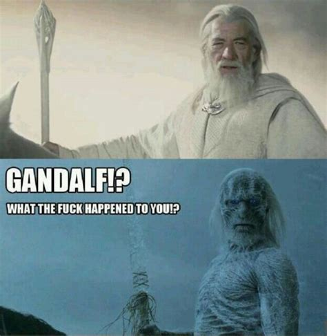White Walkers Meme - gandalf what happened white walker motley news photos and fun