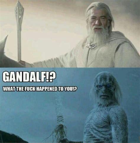 White Walker Meme - gandalf what happened white walker motley news photos