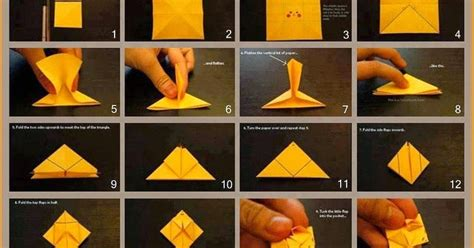 How To Make A Paper Pikachu - origami moving origami