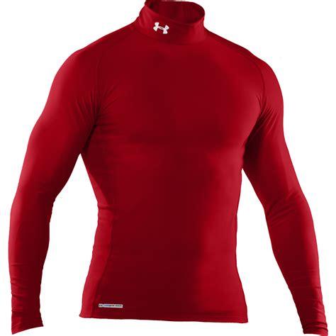 Baselayer Longsleeve Armor Merah armour aw12 mens coldgear compression evo mock sleeve baselayer ebay