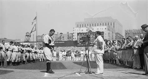 75 years ago today lou gehrig appreciation day dq s