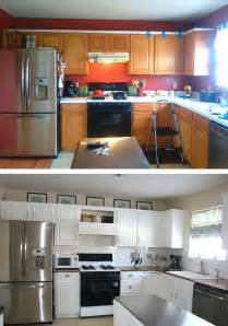 Cheap Kitchen Makeover Ideas Before And After by Best 25 Cheap Kitchen Makeover Ideas On Cheap