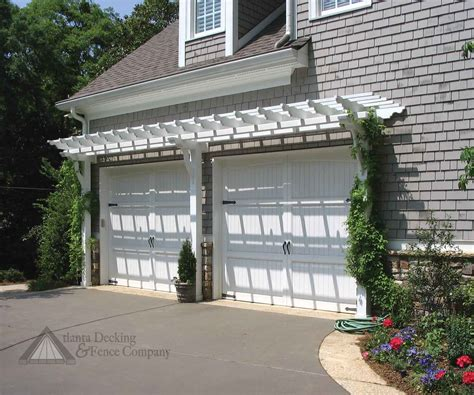 Garage Trellis by Pergola Design Ideas Garage Pergola Kits Vinyl Pergolas