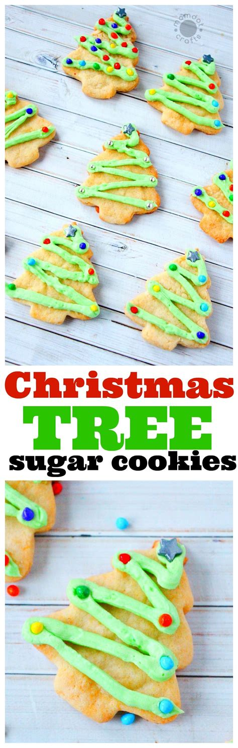 put sugar in xmas tree sugar cookies with sugar cookie frosting