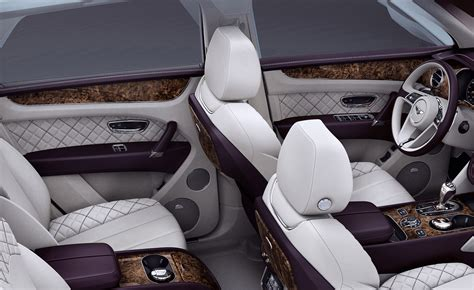bentley bentayga 2016 interior bentley unveils bentayga first edition suv