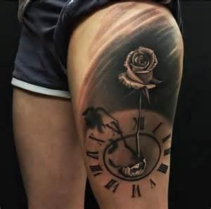 r 243 ża i zegar tatuaż pomysły i wzory tatuaży dla kobiet