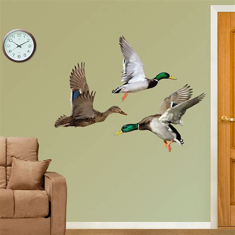 fatheads wall stickers fathead ducks wall graphic