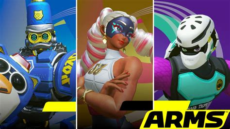 Nintendo Switch Arms preview going some rounds with arms on nintendo switch