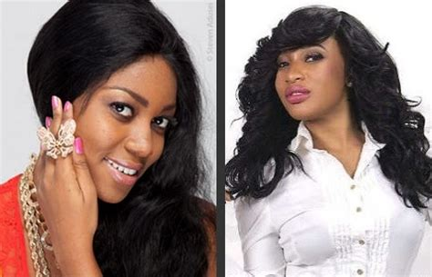 yvonne nelson s hairstyles at the back yvonne and tonto are cool but i want a god fearing woman