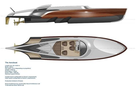 aeroboat speedboat by claydon reeves wordlesstech - Speed Boat Gearbox