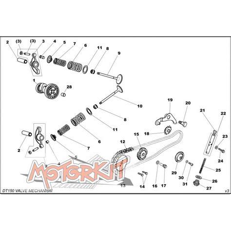 Tensloner Assy Klx 150 tensioner roller assy daytona 150 motorkit
