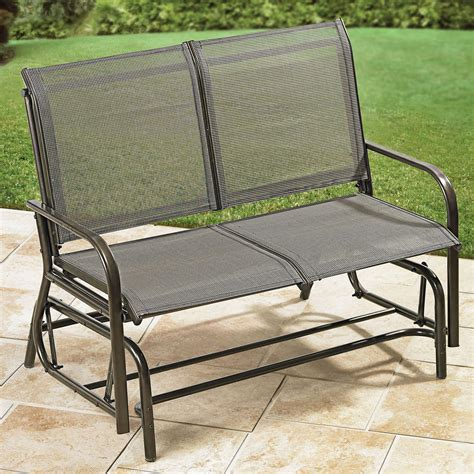 outdoor bench glider outdoor glider bench ideas the homy design
