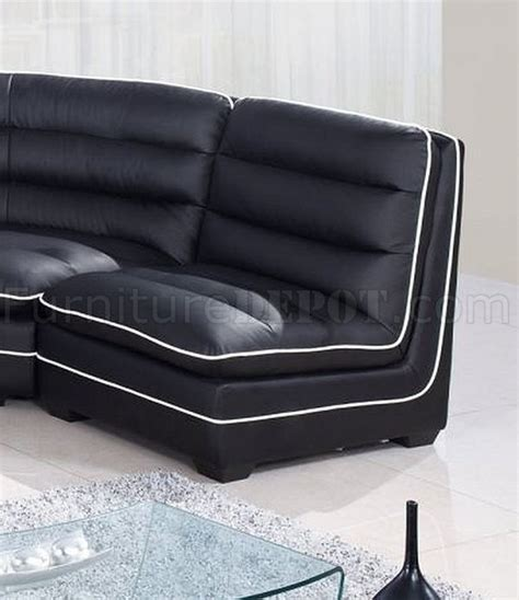 sectional sofa usa u4150 sectional sofa black bonded leather global