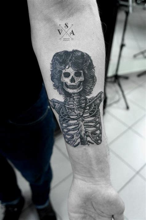 the doors jim morrison skull tattoo books worth