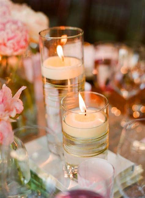 adornos de mesa para bodas con velas 17 centros de mesa para bodas con velas flotantes mesas