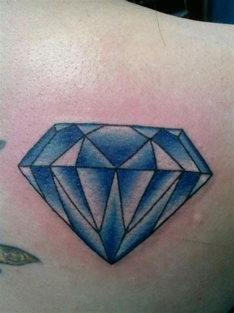 blue diamond tattoo gallery blue meaning