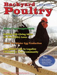 backyard farming magazine poultry on pinterest