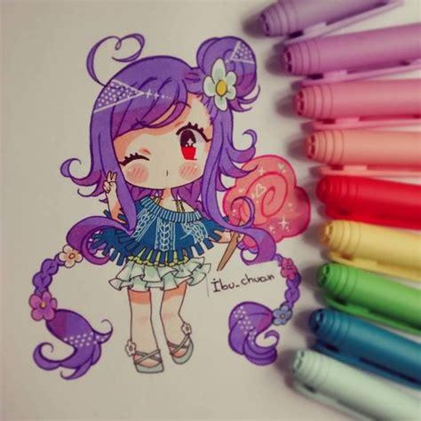 tutorial gambar anime chibi credit to the artist ibu chuan instagram anime