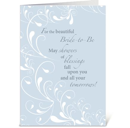 what to put on wedding shower card bridal shower congratulations swirls send this greeting card designed by designs