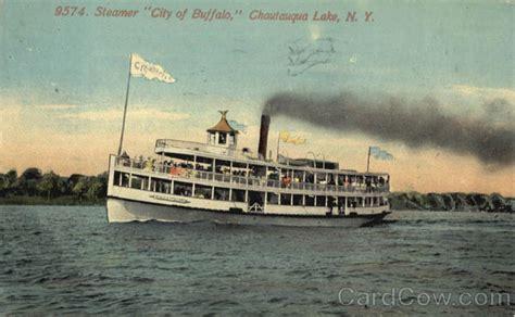 chautauqua new york steamer city of buffalo chautauqua lake ny