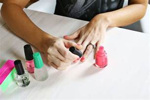at home manicure do your own gel manicure at home a beautiful mess