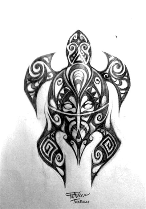 maori turtle by levin atanx on deviantart