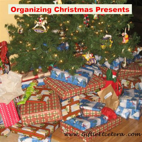 how to organize a christmas tree how to organize presents for delivery giftie etcetera how to organize
