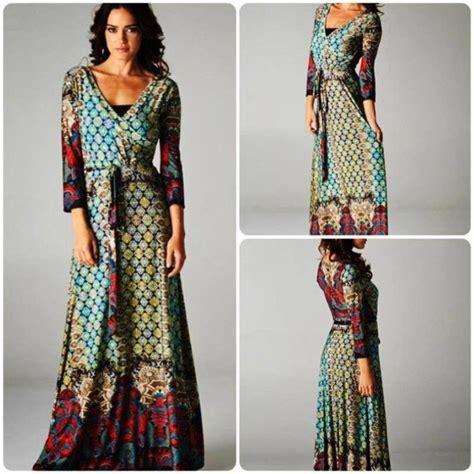 pattern dress long dress maxi dress pattern long sleeve maxi wheretoget